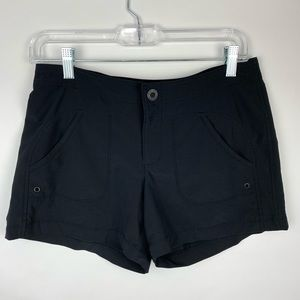 Athleta Costa Black Board Shorts Size 2 Pockets